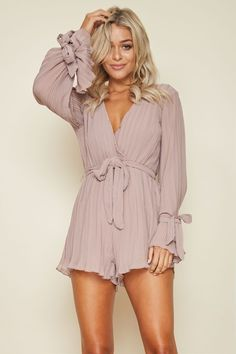 Fear And Loathing Playsuit Mocha