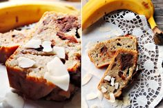 bananabread with coconuat and chocolate | Bananenbrot mit Kokos und Schokolade