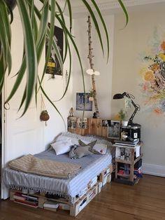 Room Ideas Bedroom, Bedroom Decor, Décor Room, Bedroom Inspo, Bed Room, Ikea Bedroom, Design Bedroom, Bedroom Inspiration, Bedroom Furniture