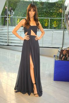 The CFDA Turns It Up on the Red Carpet - Joan Smalls in Prabal Gurung