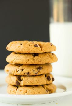 Pretzel-Peanut Butter Chocolate Chip Cookies