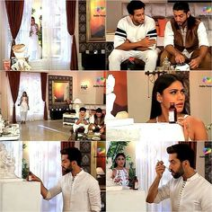 The girls arranged food for Shivaay on behalf of Anika but OmRu thought Shivaay did it for them Anika placed medicine for Shivaay as he caught cold but Shivaay thought OmRu did it for him