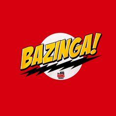 Camiseta Chica The Big Bang Theory. Bazinga!