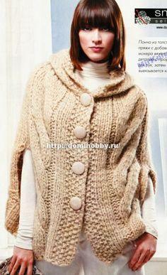 free crochet capes patterns - Αναζήτηση Google