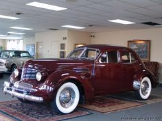 DANIEL SCHMITT & CO CLASSIC CAR GALLERY PRESENTS: 1941 GRAHAM HOLLYWOOD SUPERCHARGED AND RESTORED!