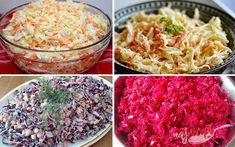 [.de]Žiadne zemiaky ani ryža ako príloha. Zvoľte si túto zeleninovú prílohu k hlavnému jedlu a kilá pôjdu dolu jedna radosť. | NajRecept.sk Low Carb Recipes, Healthy Recipes, Cooking Light, Coleslaw, What To Cook, Bon Appetit, Healthy Life, Cabbage, Brunch