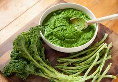 Pasta al pesto. Sì, ma di broccoli