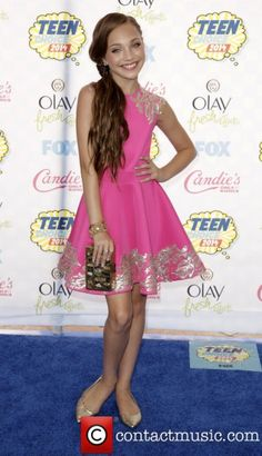 f779b3c5d8e3 Maddie Ziegler attending the Teen Choice Awards 2014 All About Dance