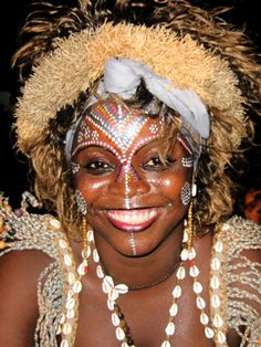 maquillage africain - Google Search