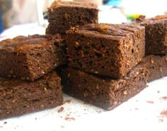 Milk Chocolate and Coconut Protein Brownies