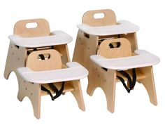 Steffy Toddler Chairs with Tray....OHHHH how I wish I could have these in my room