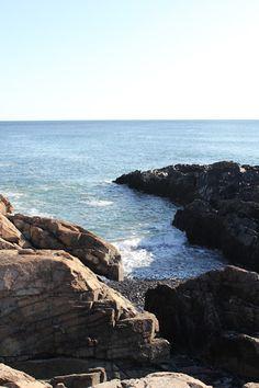 Atlantic Ocean from Ogunquit Maine- Marginal Way