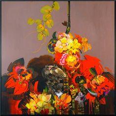 Parque Salamanca- Alejandro Obregon <3 Colombian Art, Backyard Garden Design, Art Database, American Art, Surrealism, Floral Wreath, Halloween, Artwork, Flowers