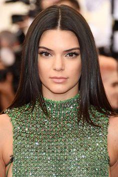 Met Gala 2015 Hairstyles & Makeup: Kendall Jenner  #hair #makeup #MetGala2015 #MetBall2015