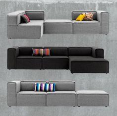 Creëer jouw ideale Carmo door zelf de kleur, vorm en afmetingen te bepalen!