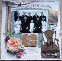 Gallery Search: family heritage layouts