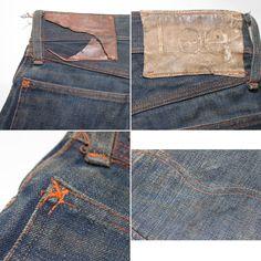 Lee Cowboy Lot 101 Pants, 1920's Vintage Pants, Vintage Denim, Vintage Outfits, Denim Overalls, Jeans, Lee Denim, Denim Style, Denim Fashion, Indigo