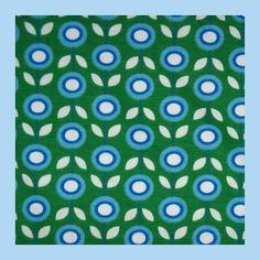 bio interlock madeliefjes groen @ joyfits.nl