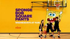 SpongeBob SquarePants promo endboard from Nickelodeon's 2017 brand refresh.