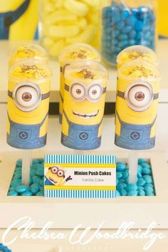 Minion/Despicable Me Birthday Party Ideas | Photo 10 of 44 | Catch My Party