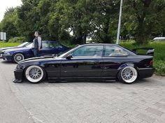 #e36 #oz #hartge #low #camber #stance