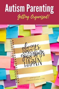 Autism Parenting | Getting Organized as an Autism Parent.  Learn the top tips on staying organized as a parent with autistic children.