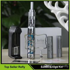 Kit E Cig 100% Genuine Smy S2000 Kits E Cigarette Vaporizer Rebuildable Atomizer 2200mah Battery 3.0ml Clearomizer Refly Electronic Cigarette Starter Kits Cheapest From Refly, $33.88| Dhgate.Com