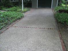 aggregate brick Pool Decks, Pathways, Outdoor Spaces, Brick, Sidewalk, Architecture, Garden, Ideas, Outdoor Living Spaces