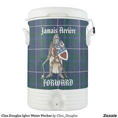 Clan Douglas Igloo Water Pitcher Cooler