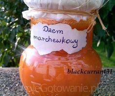 Dżem marchewkowy - MojeGotowanie.pl - Przepisy - Przetwory - Dżem marchewkowy