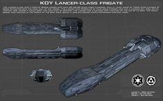 http://unusualsuspex.deviantart.com/art/Lancer-Class-Frigate-ortho-New-537724671