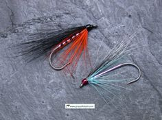 Squirrel Winged Sea Trout Flies