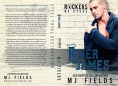 River James (Rockers of Steel, #3) by M.J. Fields - #CoverReveal - #RockstarAlert - #PreOrder Now! - iScream Books