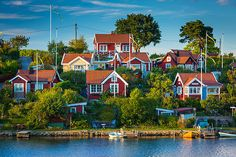 Brandaholm Cottages in Karlskrona, Blekinge County_ Sweden