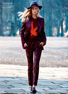 Model Carolyn Murphy, photographer Patrick Demarchelier for Vogue, US, May 2013