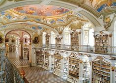 Many think the paintings on the ceiling and the walls of the Nationalbibliothek (Austrian National Library) rival those of the Sistine Chapel in Rome. Located within the Hofburg Palace, it houses more than 7 million books and manuscripts. However, most people don't come here to read, but to ogle the exquisite architectural masterpiece and soak in the atmosphere.