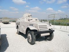 Israeli M3 Scout Armoured Car.