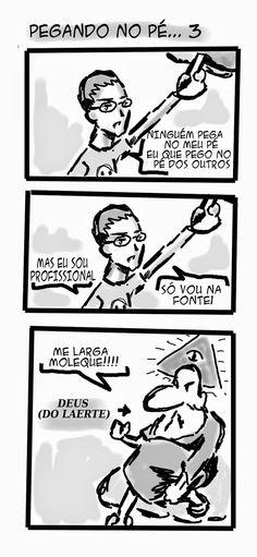 RABISCOS ENQUADRADOS: FCQ 57: TODO PODEROSO
