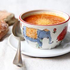 Sopa de tomates asado No es la poca pero mehellip
