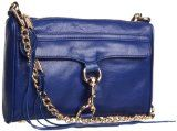 Rebecca Minkoff Mini Mac Clutch,Navy,One Size