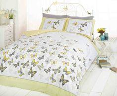 Flutter Printed Duvet Set