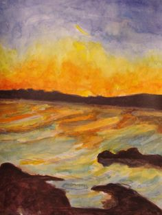 Coral Strand, Carraroe, Co.Galway by Fiona Concannon on ArtClick.ie Irish Seascape Watercolour Art Galway Irish Art, Watercolour Art, Artwork Prints, Online Art Gallery, Ireland, Original Paintings, Coral, The Originals, Artist