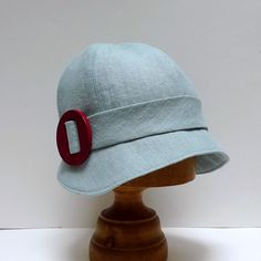 Cloche Hat in Robins egg blue