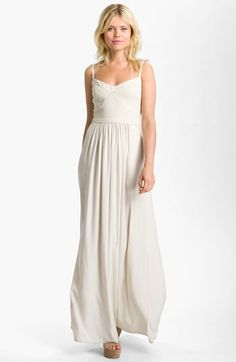 BCBGMAXAZRIA Chiffon Maxi Dress