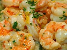Easy  Healthy Shrimp Scampi Recipe