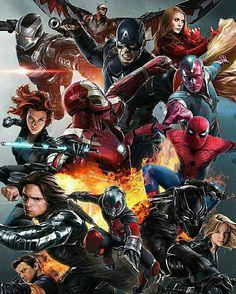 Civil war is over infinity war starts