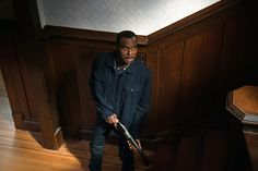 Rufus on the hunt. | 'Supernatural' Episode 11X16 Safe House: Sam and Dean Work Bobby's Old Case