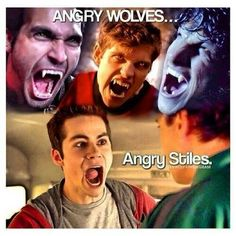 Stiles was pretty scary in s3b! So lets give him some credit here!