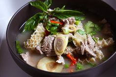 Beef & Intestine Stew (Tom Saep Nuea)