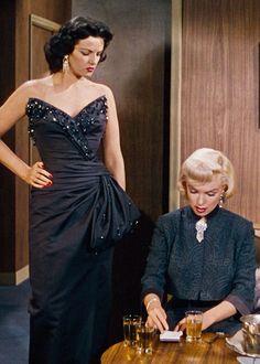 "Jane Russell & Marilyn Monroe in ""Gentlemen Prefer Blondes"" 1953"